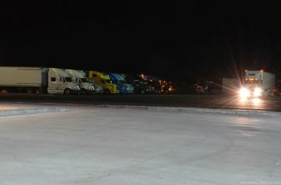 Rastplatz an der Interstate 5