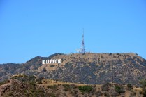 Blick auf das Hollywood Sign vom Griffith Observatory