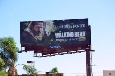 The Walking Dead Werbung in Los Angeles Downtown