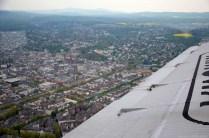 Flug mit der JU-52 über Wiesbaden