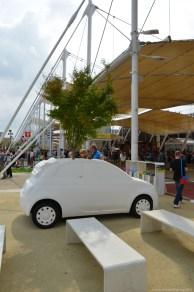 Fiat 500 Blumentopf