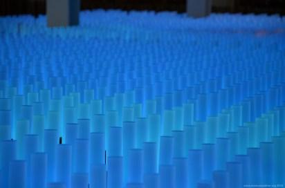 Farbenmeer auf der Expo 2015