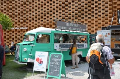 Frozen Yogurt Food Truck auf der Expo 2015