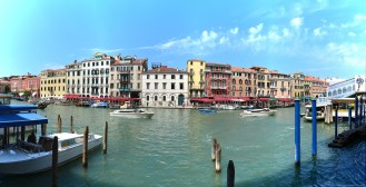 Panorama am Rialto, Venedig, Italien
