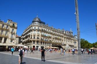 Place de la Comédie, Montpellier, Frankreich