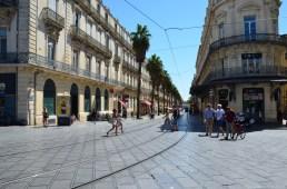 Blick in die Rue de Maguelone, Montpellier