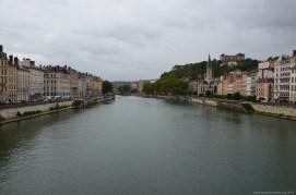 Auf der Saône, Lyon
