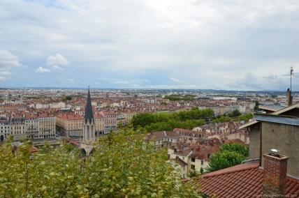 Noch ein Blick über Lyon
