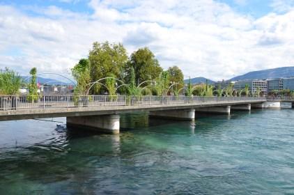 Pont des Bergues, Genf