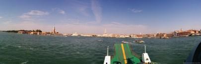Fährfahrt nach Venedig (Panorama)