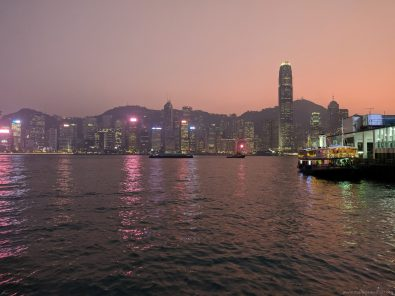 096 Hongkong Island Sunset View