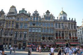 Nordwest-Seite Grand Place Brüssel