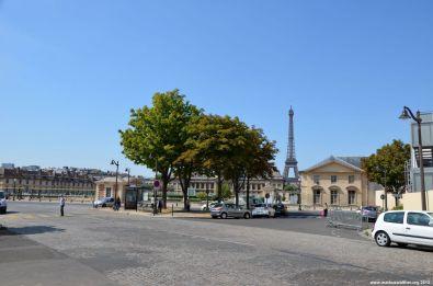 École Militaire und Eiffelturm