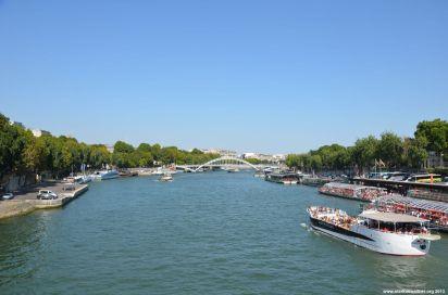 Blick von Pont d'Iéna
