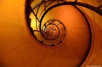 Stufen des Arc de Triomphe