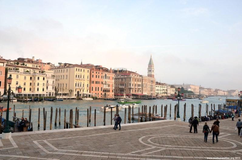 Canal Grande vor der Santa Maria della Salute