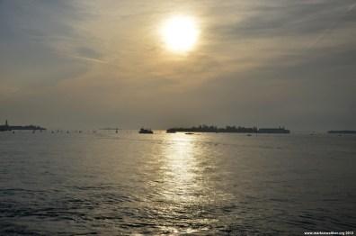 Sonnenuntergang über Venedig