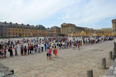 Platz vor Schloss Versailles