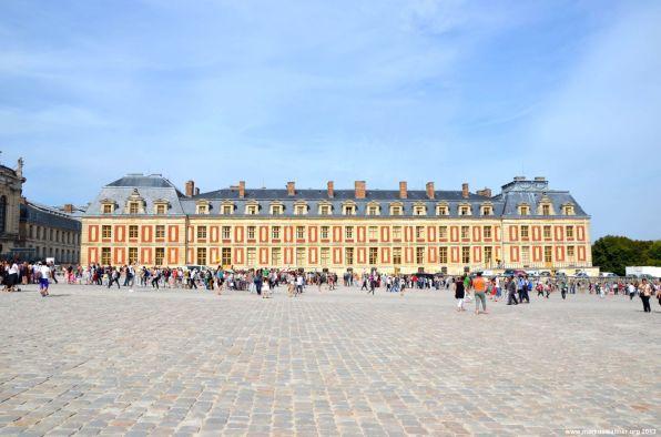 Nebengebäude auf Schloss Versailles