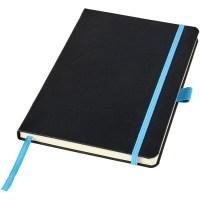 Blå anteckningsbok