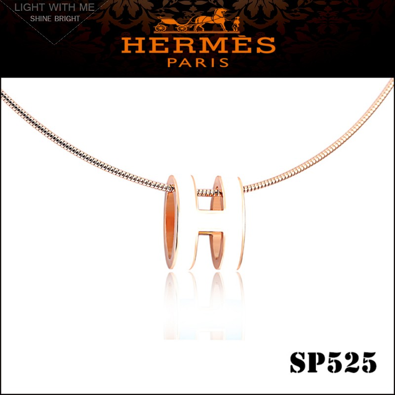 Italy Hermes Pop H Necklace 021ef 31a3f