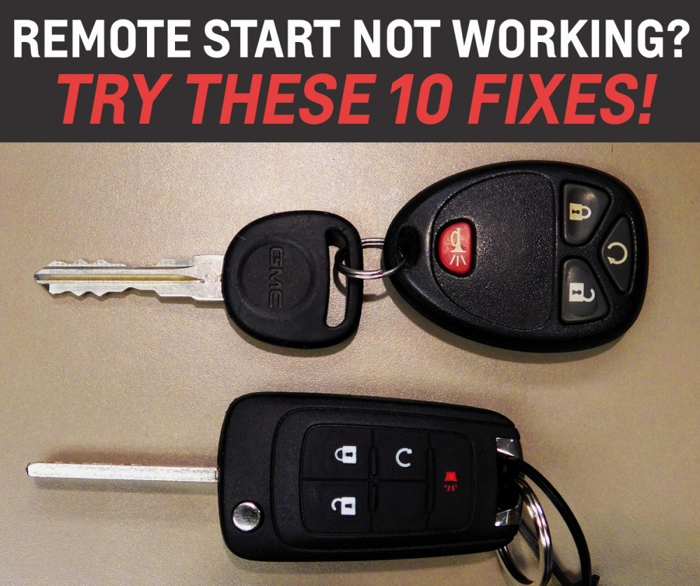 hight resolution of remote start not working 10 things to check