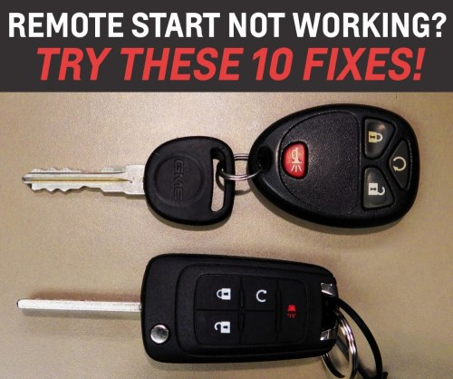 small resolution of remote start not working 10 things to check