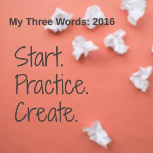 Three Words 2016