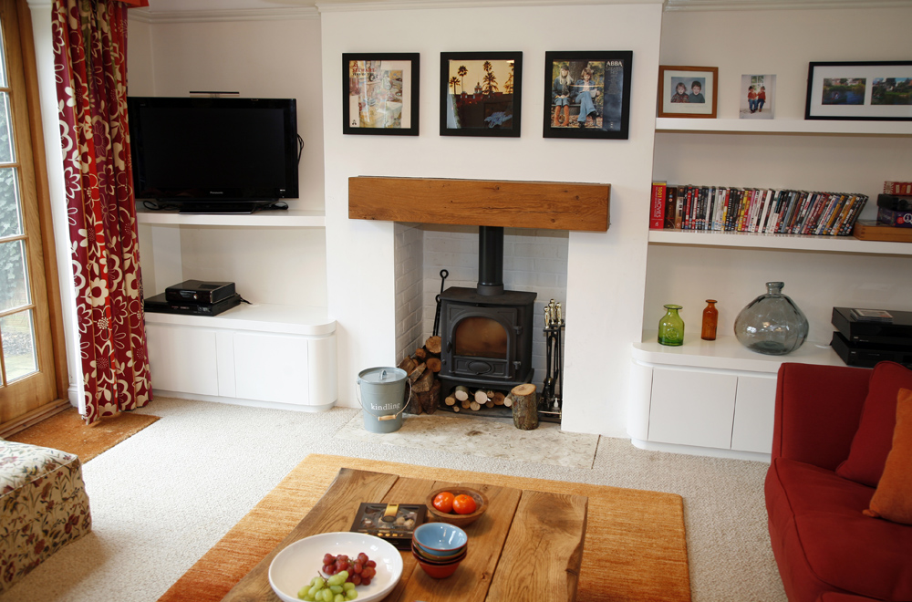 Curved bespoke furniture by Mark Williamson