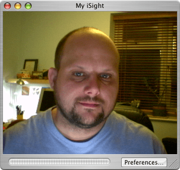 iSight image in iChat AV