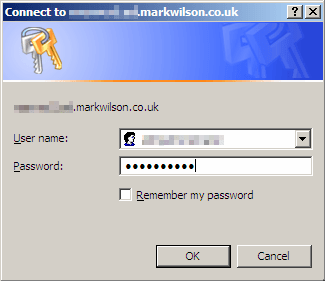 OWA authentication via HTTP