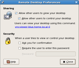 Remote Desktop Preferences