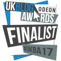 UK Blog Awards 2017 Finalist