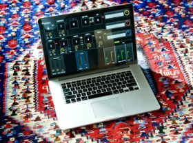 Macbook Pro running MainStage