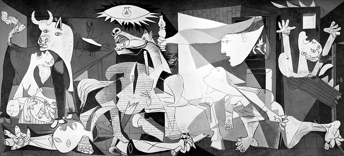 Pablo Picasso- Guernica | deremyreheather