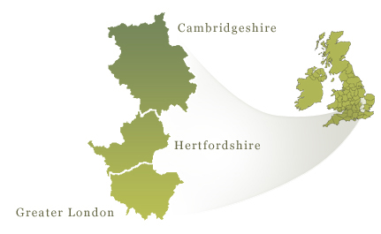 Mark Woodcock Area Map
