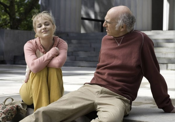 Evan Rachel Wood (Melody) et Boris (Larry David) dans Whatever Works de Woody Allen (2009)