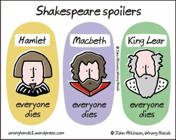 Shakespeare-tragedies-everyone-dies