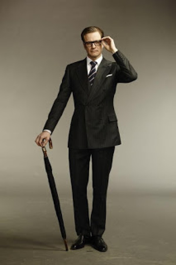 Harry Hart (Colin Firth) dans les Kingsman de Matthew Vaughn
