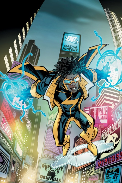 I grew up watching Static Shock on TV, so I'm really looking forward to this. I think it's also a kind tribute to Static's creator, Dwayne McDuffie, who unfortunately passed away this year.