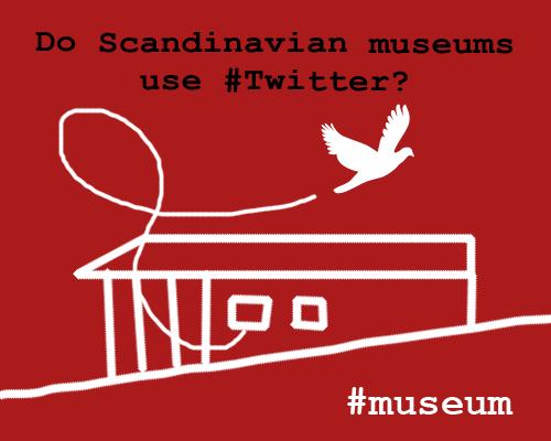 Skandinaviske museer på Twitter