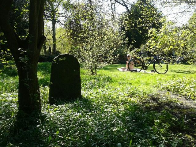 Already since 1780 a park for both the living and the death - Copenhagen's graveyard Assistens kirkegård