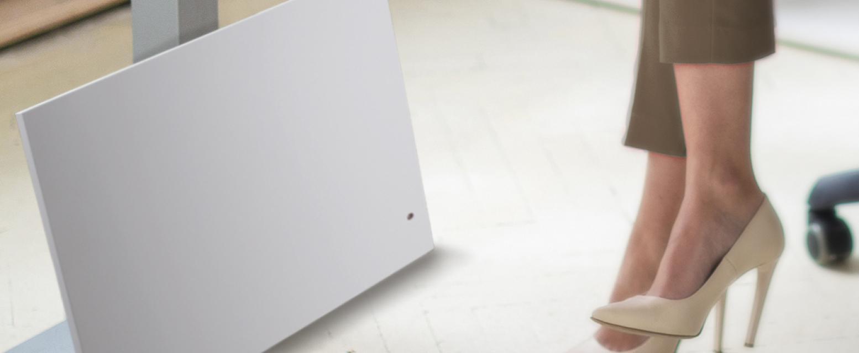 medium resolution of portable radiant heat for quiet personalized comfort