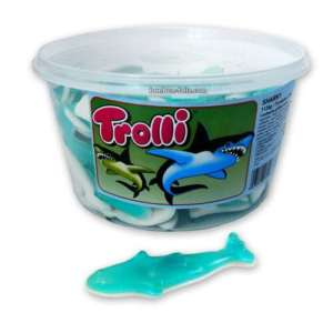 Sharky le Requin - Trolli 75 pcs 1.125 kg.