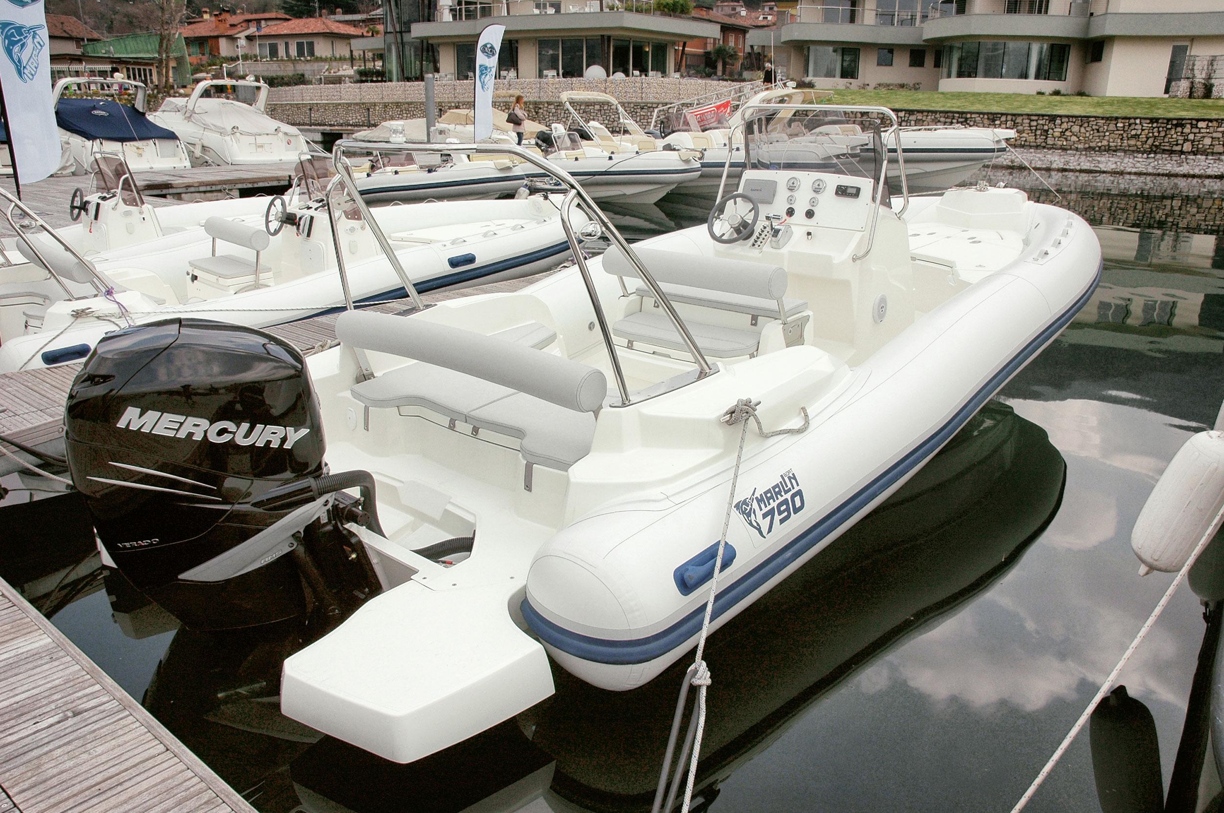 Model Dynamic 790  Marlin Boat