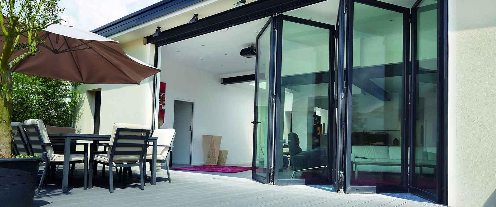Aluminium Bifold Doors Made To Measure