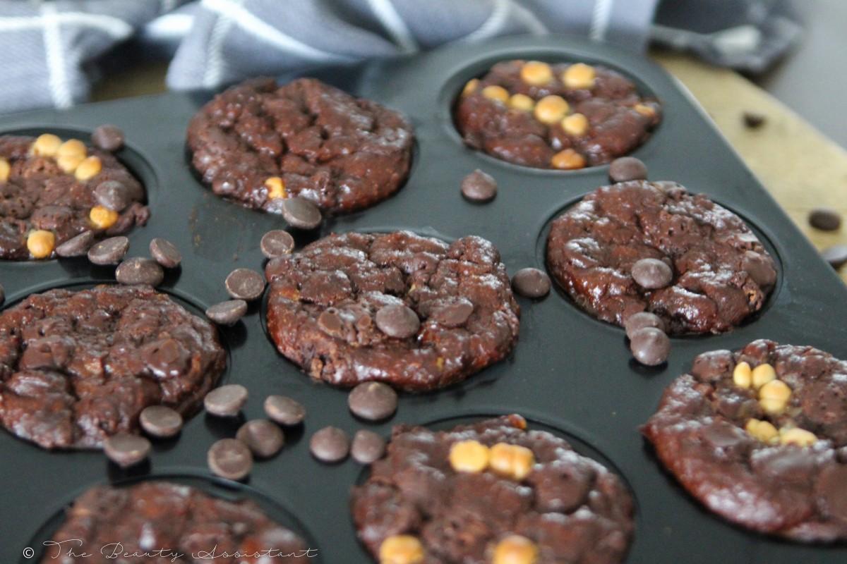 Chocolade Muffins met Griekse Yoghurt