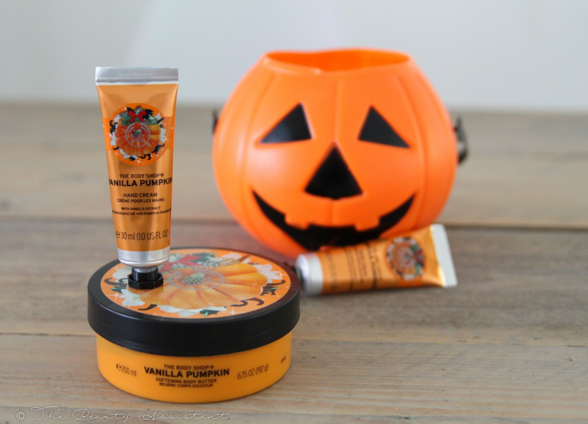 The Body Shop Vanilla Pumpkin Halloween Edition