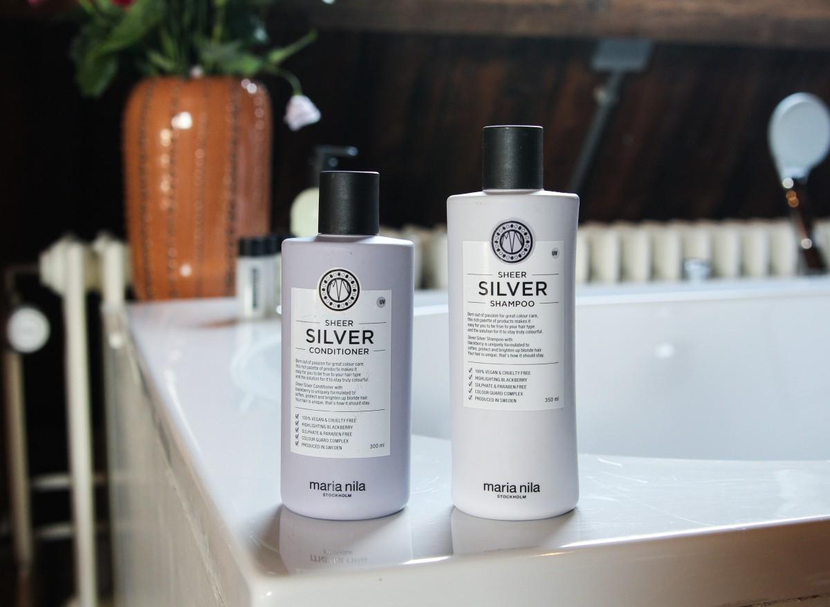 Maria Nila Silver Shampoo en Conditioner