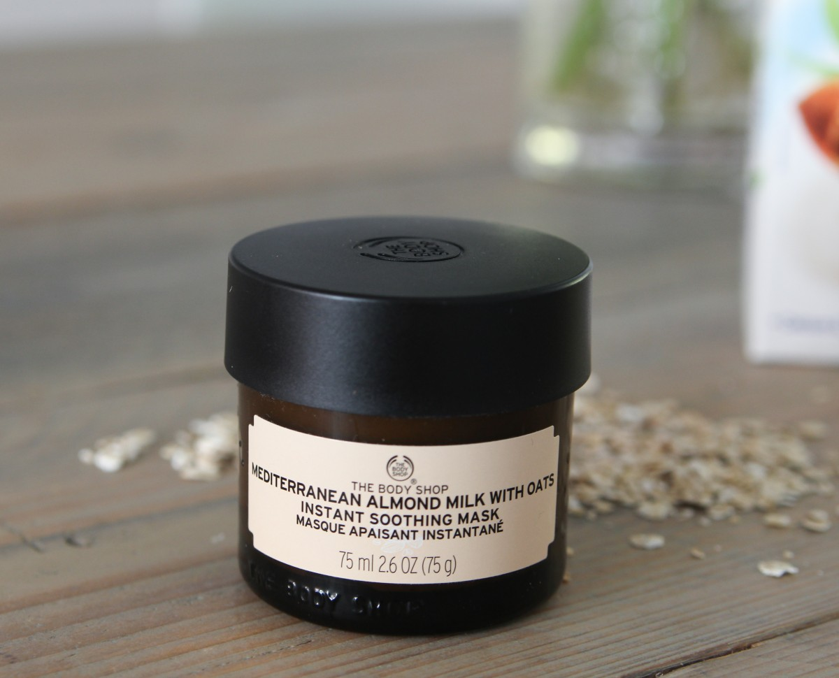 The Body Shop Mediterranean Almond Milk with Oats